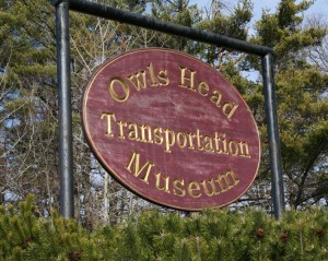 Owls Head sign