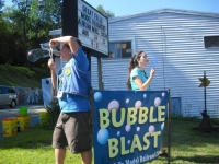 Bryce Weeks & Julie Bruce at the Bubble Blast
