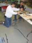 11-11-14 c Peter Cole, Paul Dugas working on track.jpg