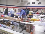 Augusta Show - Tom Coulombe sales table prep.jpg