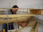 Grand Helix Work In Prgoress with Roger Allen working away