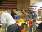 Augusta Show setting up, Bob Purinton, Tom Coulombe, others
